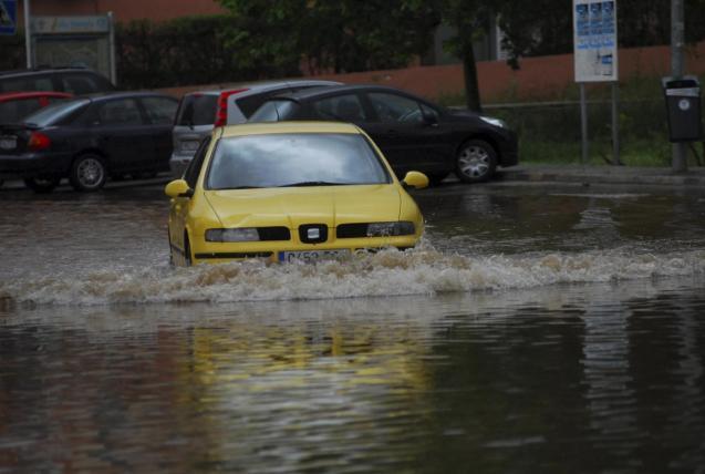Heavy rain in Mallorca