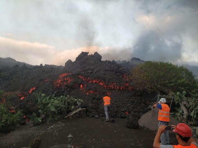 La Palma volcanic eruptions.