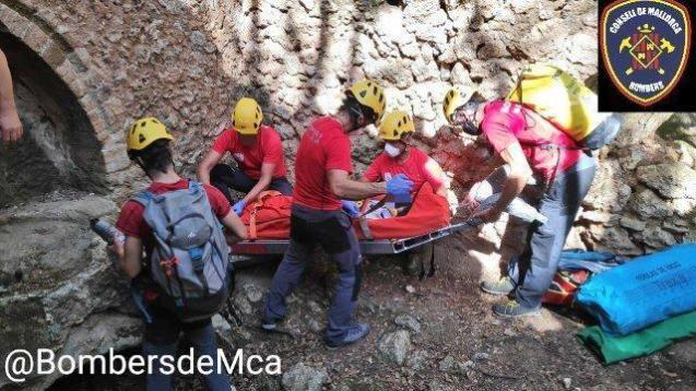 Mallorca Fire Brigade mountain rescue