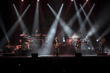 @CRISTINAMOREIRA Die spanische Tributegruppe Brothers in Band hat sich der Musikder Dire Straits verschrieben. Foto: Cristina Moreira