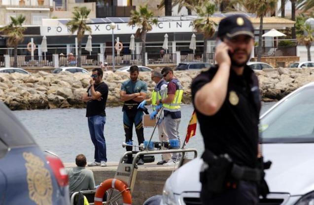 Woman's body found in Bay of Palma.