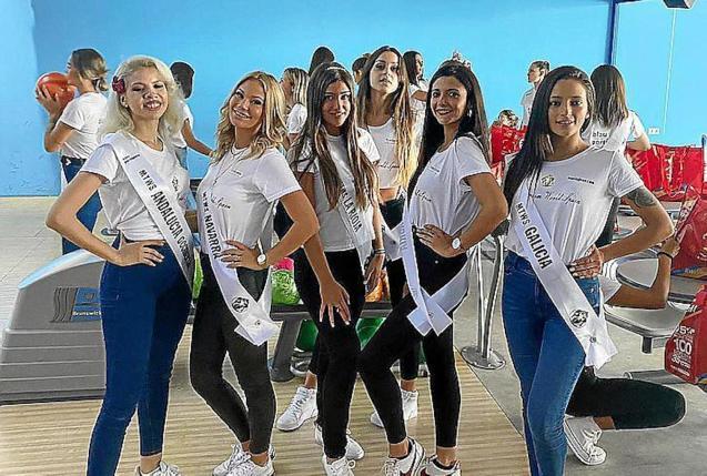Miss Tourism World Spain 2021 competitors.