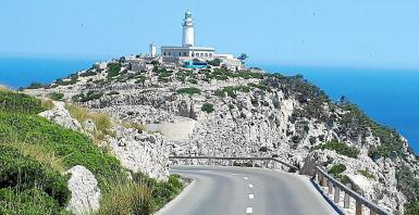 The Formentor lighthouse.