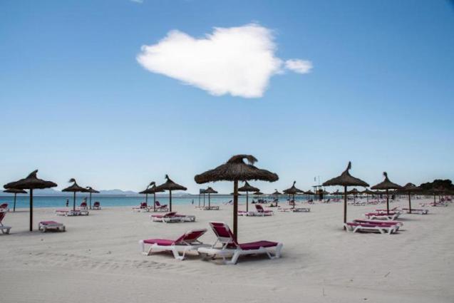 Playa d'Alcudia, Mallorca.