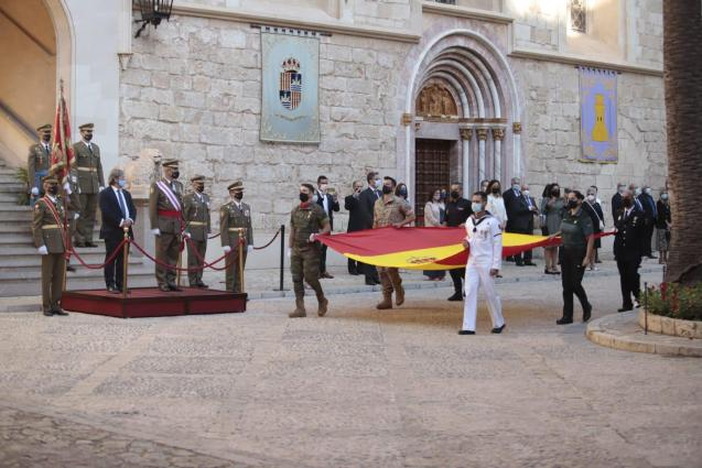 National Day and Armed Forces Day in Palma, Mallorca