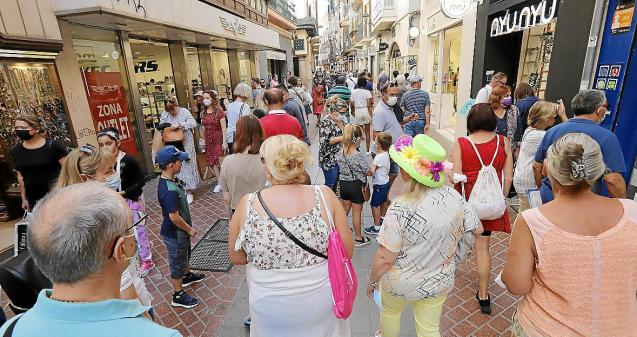Palma Mallorca, where holidaymakers are returning