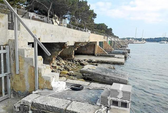 Urgent action needed for boathouses in Portocolom, Mallorca