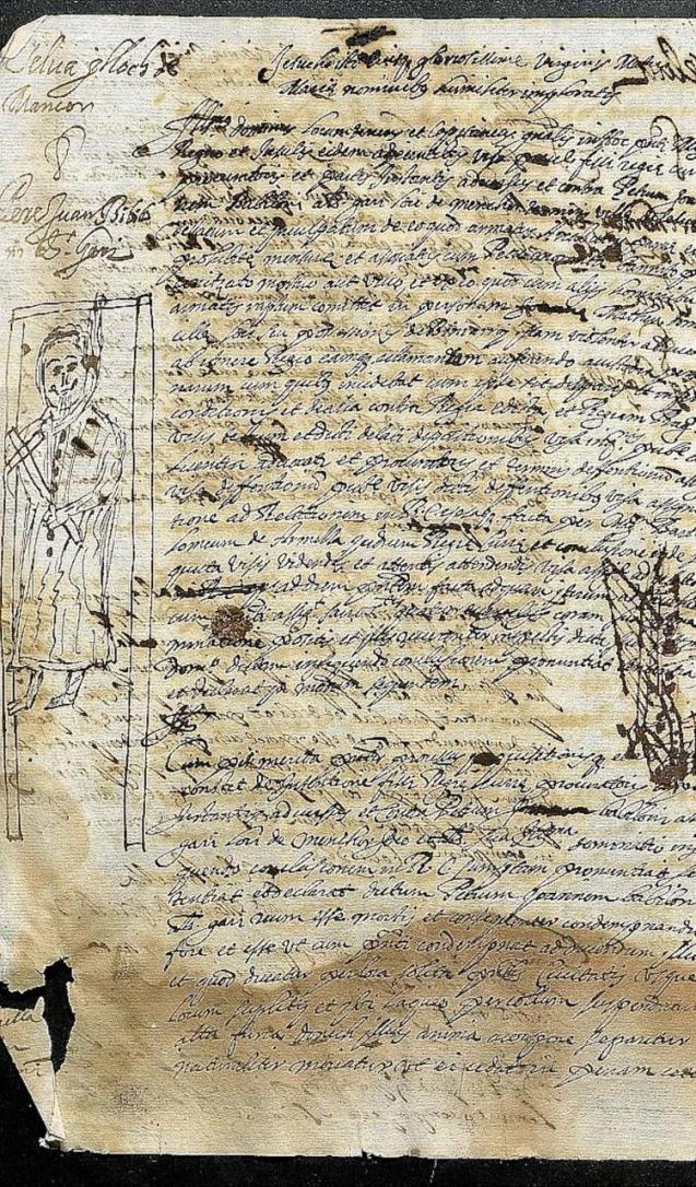 17th Century manuscript.