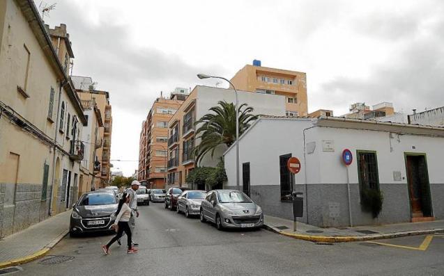 Calle Caballero d'Asphel in Palma.