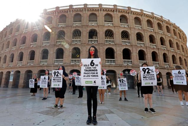 The government is pretty clear on its position, so go for it and ban bullfighting.