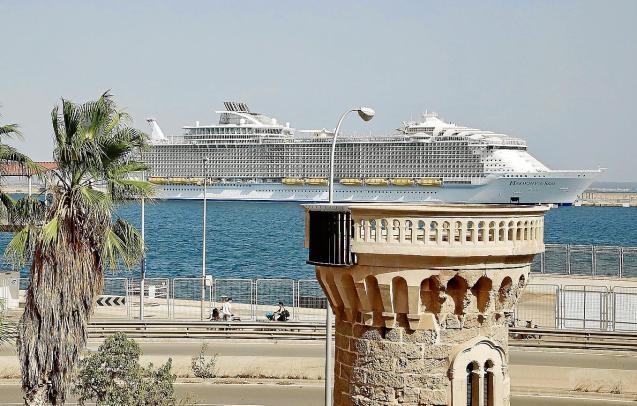 Harmony of the Seas in Palma, Mallorca
