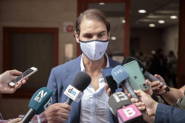 Rafa: injury concerns.