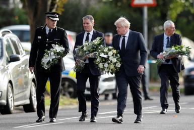 Johnson said Britain had lost a fine public servant and a much-loved friend and colleague.