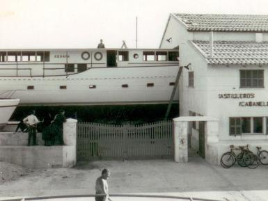 Astilleros Cabanellas has been in Puerto Pollensa since 1959.
