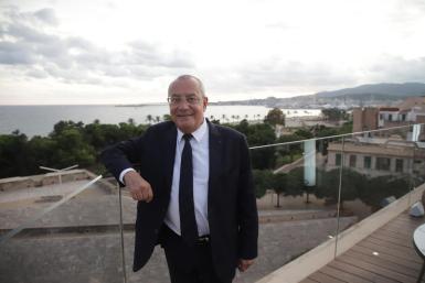 France's ambassador to Spain, Jean-Michel Casa, in Palma.
