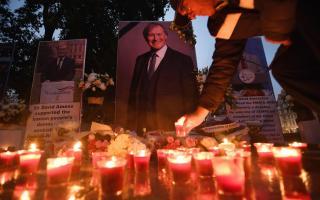 Tributes to MP David Amess at parliament