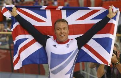 Sir Chris Hoy, London 2012 Olympics.