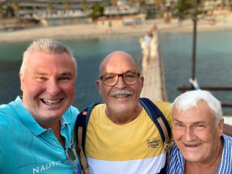 We love Majorca. I have been going for 48 years. Photo sent by Dan Connew.