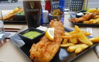 A terrific fish and chips was worth a 10.
