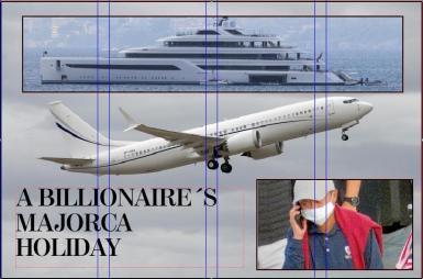 What to do on Mallorca when you are worth 50 billion dollars!!