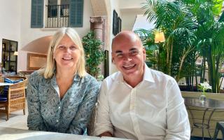 Rialto's Barbara Bergman and Svenn Rudow