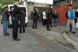 Fifty people involved in mass brawl on the Son Castelló estate