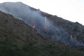 Alcudia mountain blaze