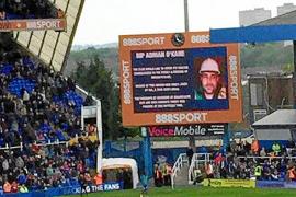 Birmingham City pay tribute to Briton killed in Magalluf