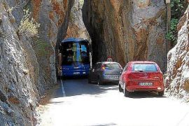 Coaches in Sa Calobra could lose 1.76 million euros