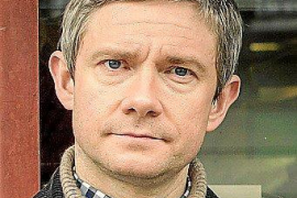 Martin Freeman filming in Majorca