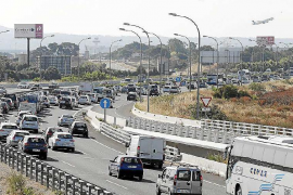 Palma traffic levels like high summer