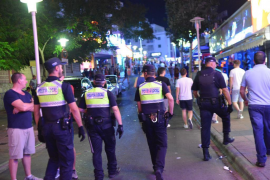 Briton arrested for attacking Magalluf police