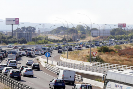 Over a million vehicles on Balearic roads this summer