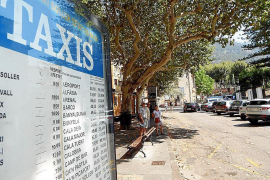 Soller hoteliers criticising a lack of taxis