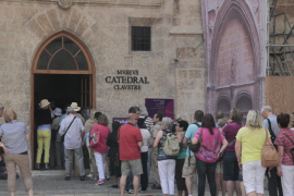 Tourist arrested over Palma Cathedral ticket-office incident