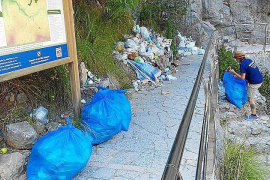 Sa Calobra rubbish not being collected