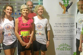 JoyRon Foundation team completes the Palma to Lluc Walk