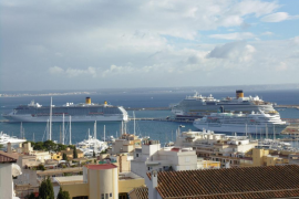 High levels of cruise ship pollution in Palma