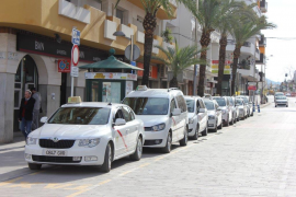 Palma taxi protest over operating hours