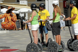 Palma regulating the use of scooters and Segways