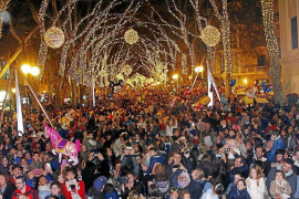 Palma Christmas lights to go on for Black Friday