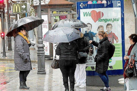 A wetter than normal November for the Balearics
