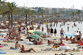 Balearic foreign tourism up by more than six per cent
