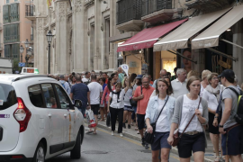 Balearics foreign tourism has increased six per cent