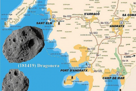 Two asteroids given Majorcan names