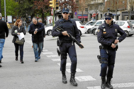 Reduction of over 200 state police officers in the Balearics