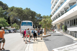Hotel room revenue in the Balearics up by 80%