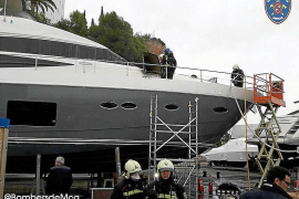 Portals closed by luxury yacht fire