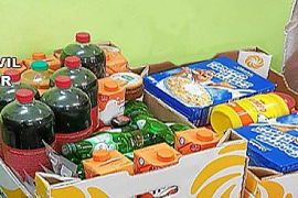 Guardia Civil confiscate out-of-date food products
