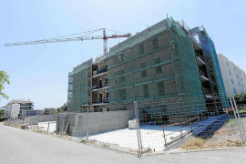 Fall in the number of new homes in Majorca